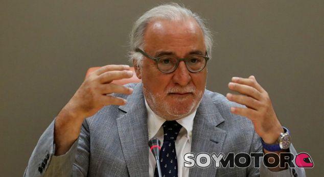 Pere Navarro –DGT– durante una de sus apariciones públicas - SoyMotor