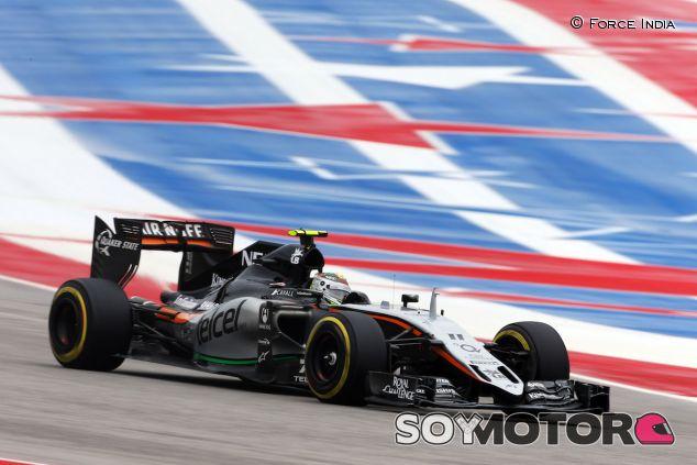 Sergio Pérez en Austin - LaF1