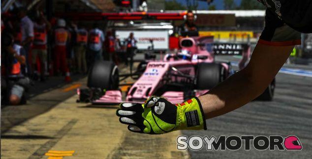 Force India en el GP de España F1 2017: Viernes - SoyMotor.com