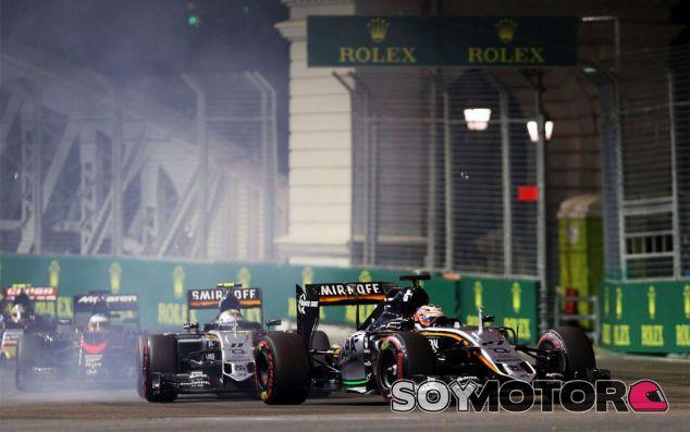 Sergio Pérez se deshace en elogios hacia su compañero de equipo, Nico Hülkenberg - LaF1