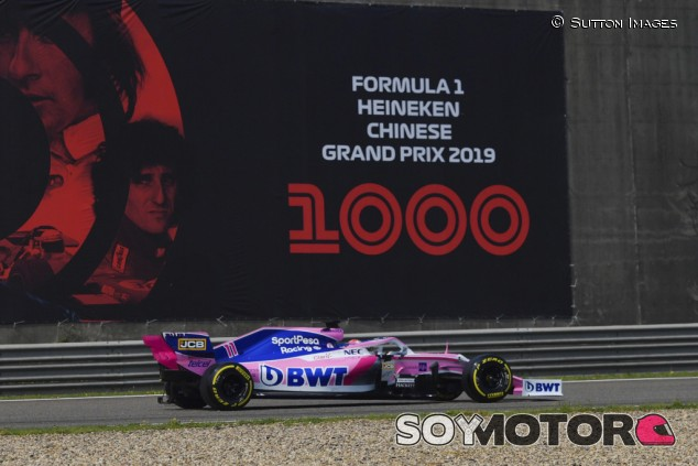 Racing Point en el GP de China F1 2019: Viernes - SoyMotor.com