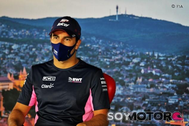 Sergio Pérez en Hungría - SoyMotor.com
