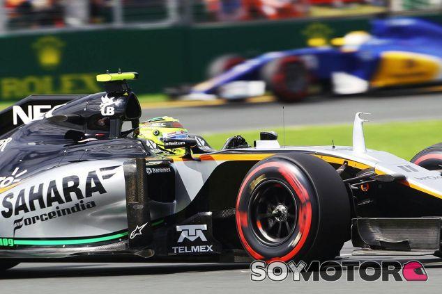 Sergio Pérez en Australia - LaF1