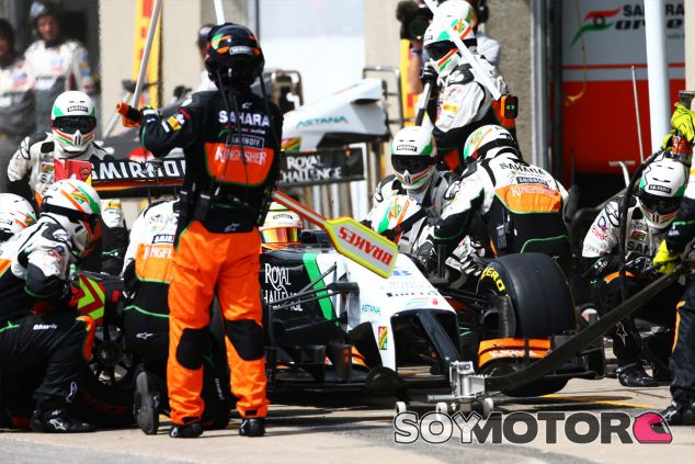 Force India en el GP de Austria F1 2014: Previo