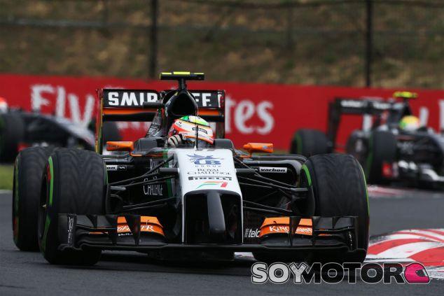 Sergio Pérez en Hungría - LaF1