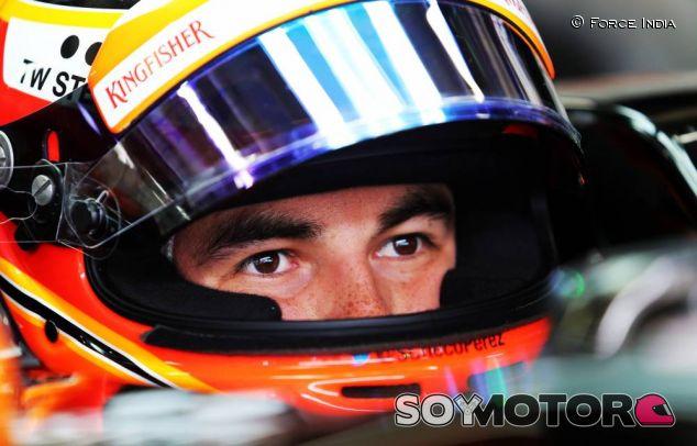 Sergio Pérez en Brasil - LaF1