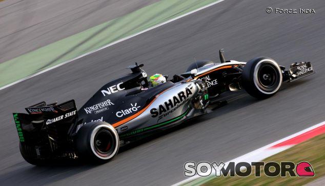 Sergio Pérez en pretemporada - LaF1