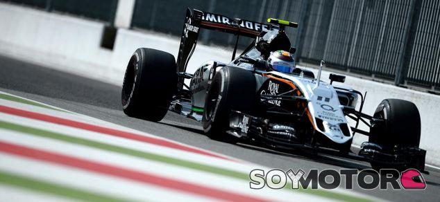 Sergio Pérez en Italia - LaF1