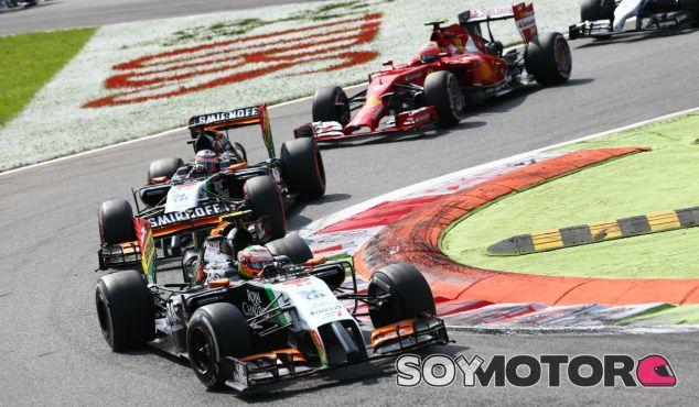 Force India en el GP de Italia F1 2014: Domingo