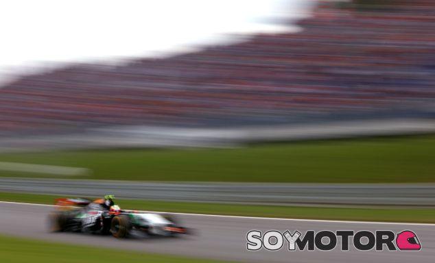 Force India en el GP de Austria F1 2014: Sábado