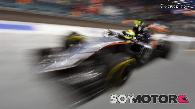 Pérez podría perder su tiempo de clasificación - LaF1