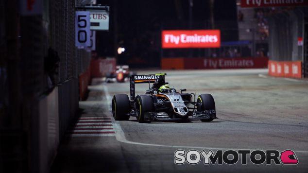 Pérez vuelve a poner a Force India cuarto en el Campeonato de Constructores - LaF1