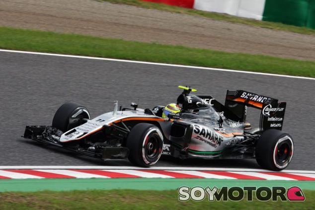 Sergio Pérez seguirá en Force India en 2017 - SoyMotor