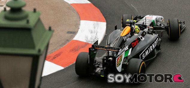 Force India en el GP de Mónaco F1 2014: Jueves