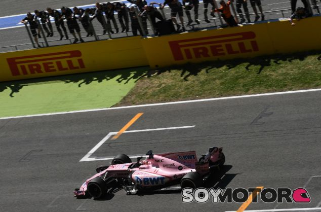 Force India en el GP de España F1 2017: Domingo - SoyMotor.com