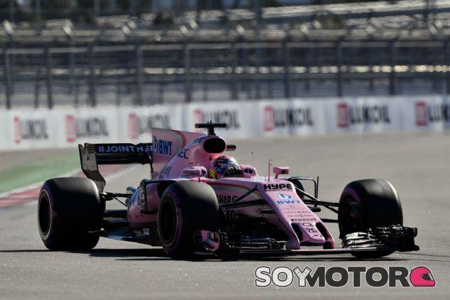 Force India en el GP de Rusia F1 2017: Viernes - SoyMotor