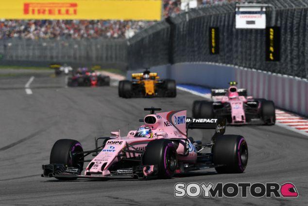 Force India en el GP de España F1 2017: Previo - SoyMotor