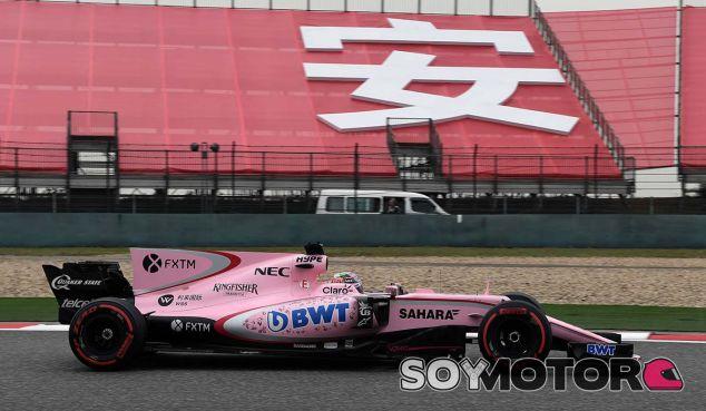 Force India en el GP de China F1 2017: Sábado - SoyMotor.com