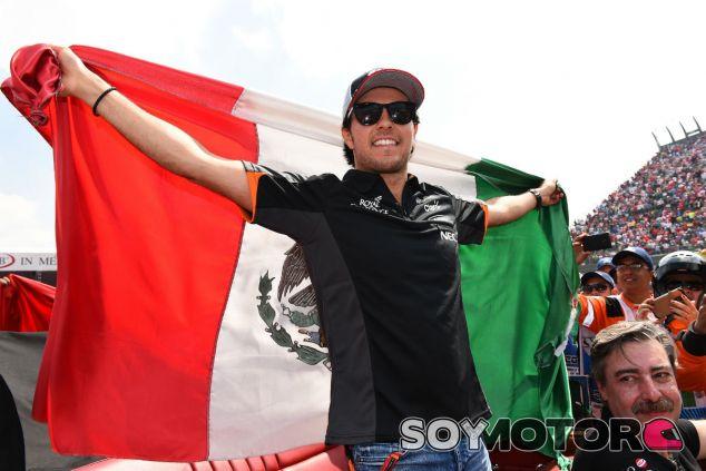 Pérez, durante el GP de México 2015 - SoyMotor