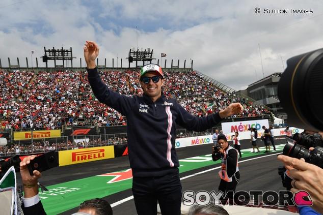 """Pérez, optimista sobre mantener el GP de México: """"Aún hay esperanza"""" - SoyMotor.com"""