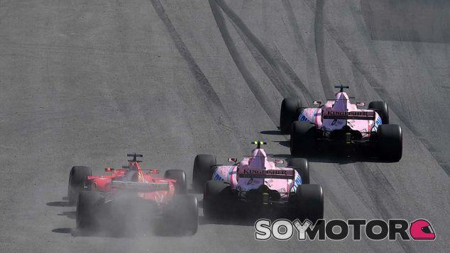"""Pérez: """"Si Ocon no me podía pasar a mí, menos a Ricciardo"""" - SoyMotor.com"""