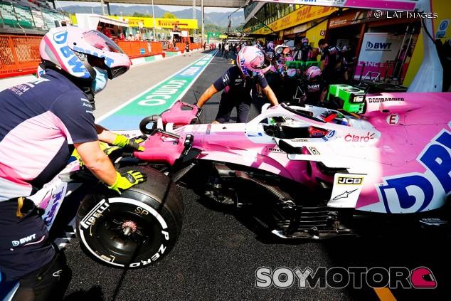 Sergio Pérez en el GP de la Toscana F1 2020 - SoyMotor.com
