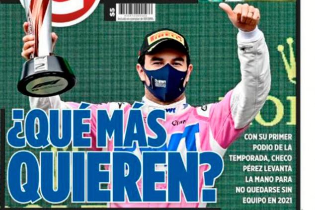 """La prensa mexicana pide la continuidad de Pérez: """"¿Qué más quieren?"""" - SoyMotor.com"""