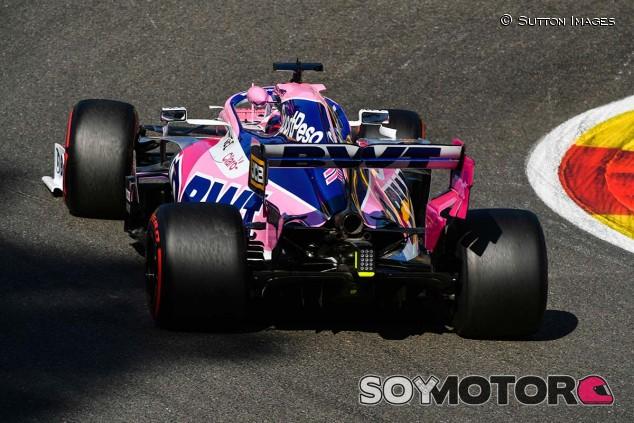 Sergio Pérez en el GP de Bélgica F1 2019 - SoyMotor.com