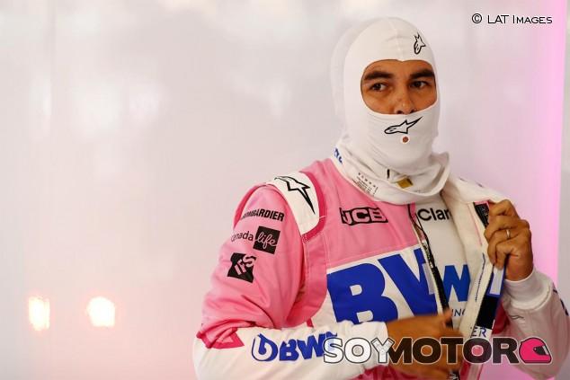 Sergio Pérez en el GP de Hungría F1 2020 - SoyMotor.com