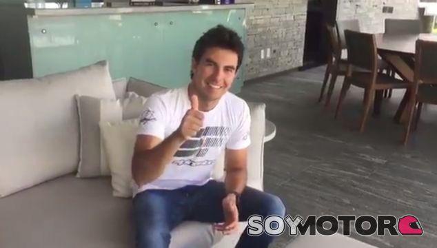 Fotograma del vídeo de Sergio Pérez - LaF1