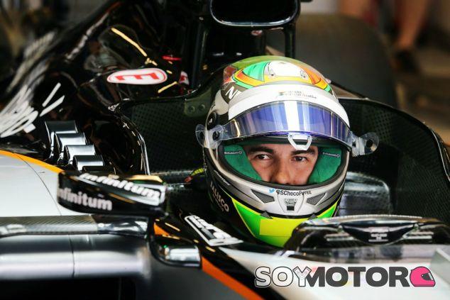 Pérez hace una de sus mejores clasificaciones de su trayectoria - LaF1