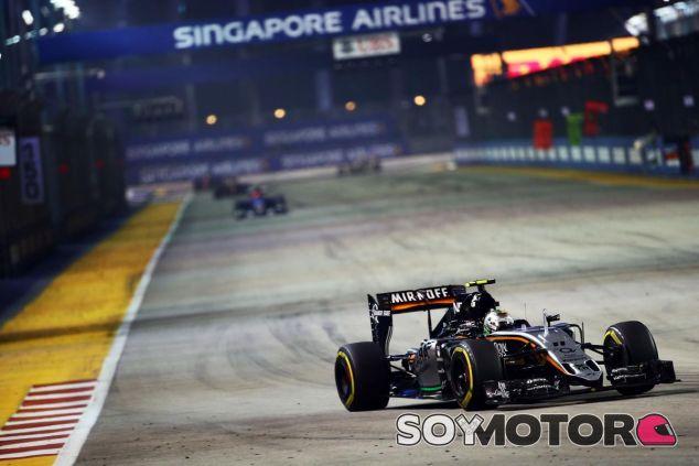 Sergio Pérez logró una buena séptima posición en el GP de Singapur - LaF1