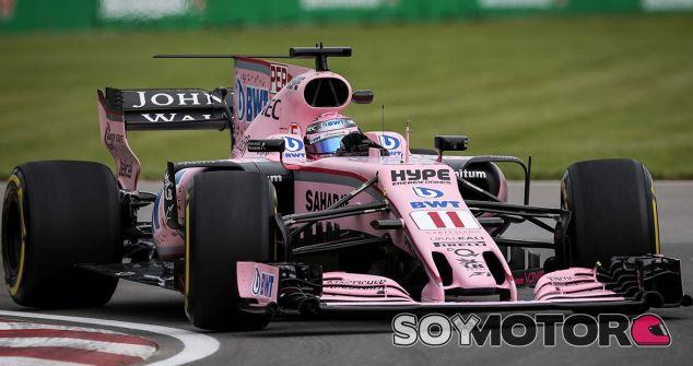 Force India en el GP de Canadá F1 2017: Viernes - SoyMotor.com