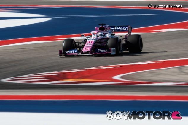Racing Point en el GP de Estados Unidos F1 2019: Viernes – SoyMotor.com