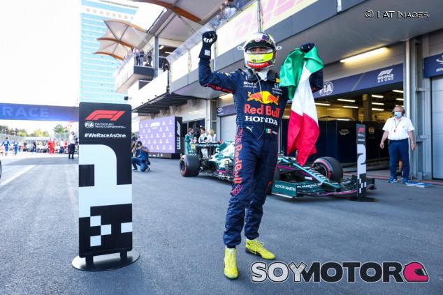 """Pérez, """"orgulloso"""" de su inicio de relación con Red Bull - SoyMotor.com"""
