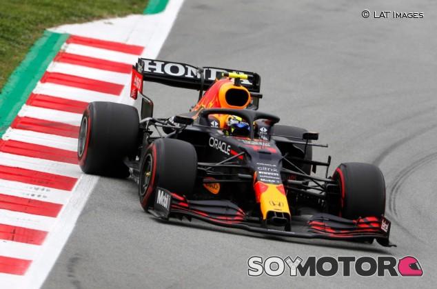 Pérez culpa a los neumáticos de su quinto puesto en España - SoyMotor.com