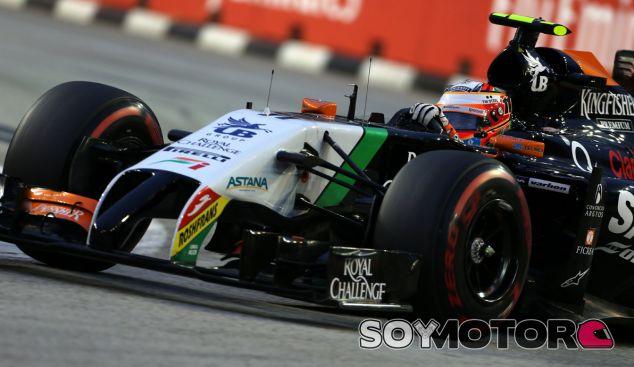 """Mallya respalda a un """"valiente"""" Pérez tras su pilotaje en Singapur - LaF1.es"""