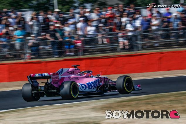 Sergio Pérez en Silverstone– SoyMotor.com