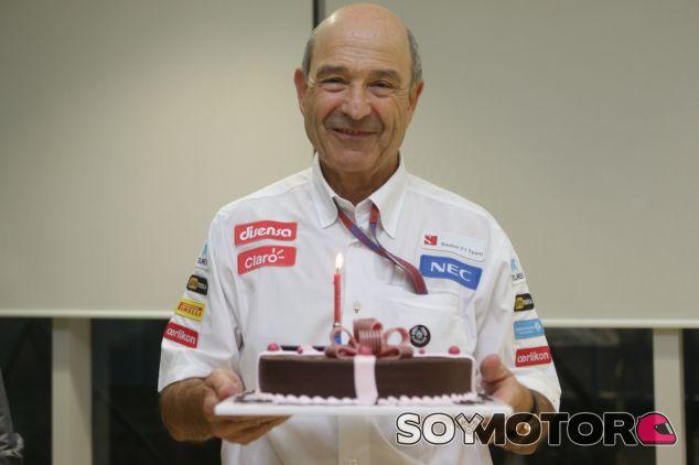 Peter Sauber en la celebración de su 70 cumpleaños - LaF1