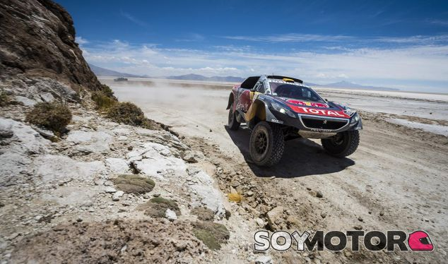Peterhansel, hoy en el Rally Dakar - LaF1