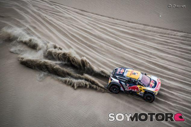 Peterhansel durante la Etapa 5 del Dakar 2018 - SoyMotor.com