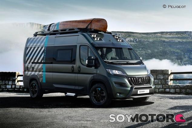 Peugeot Boxer 4x4 Concept - SoyMotor.com