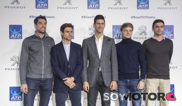 Novak Djokovic, mejor tenista del mundo, es embajador de Peugeot - SoyMotor