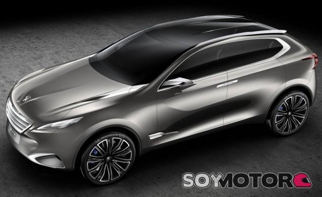 Esta podría ser la estética del Peugeot 7008 - SoyMotor.com