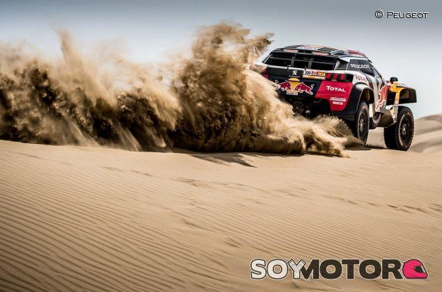 Cyril Despres en la segunda etapa del Dakar 2018 – SoyMotor.com