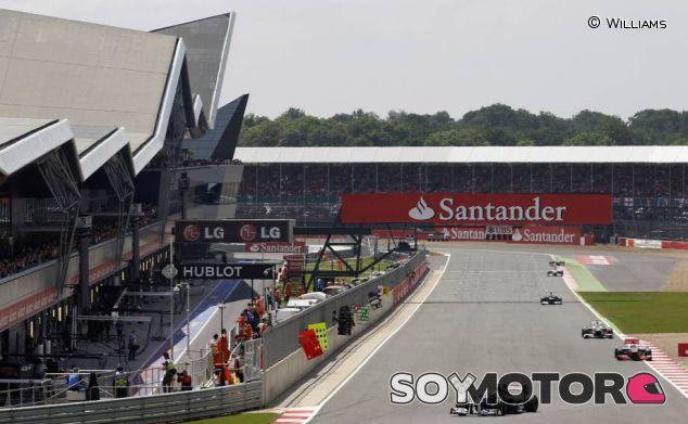 Instantánea del Gran Premio de Gran Bretaña