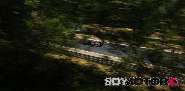 Kimi Räikkönen en el Hungaroring