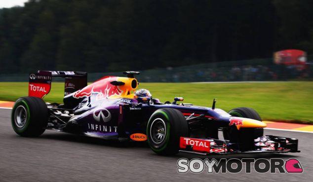 Sebastian Vettel en Bélgica