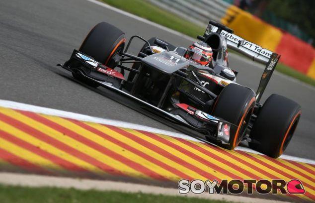 Nico Hülkenberg en el Gran Premio de Bélgica