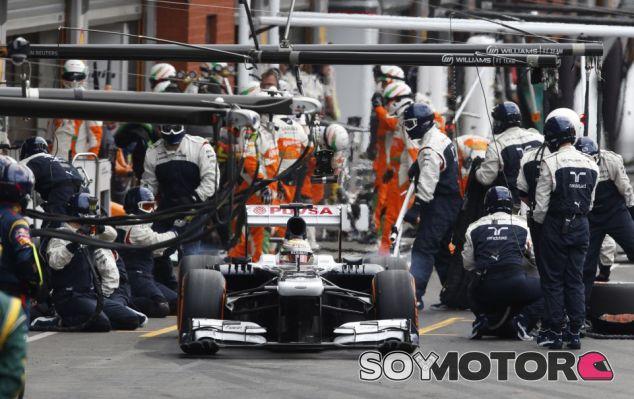 Williams en el GP de Bélgica F1 2013: Domingo